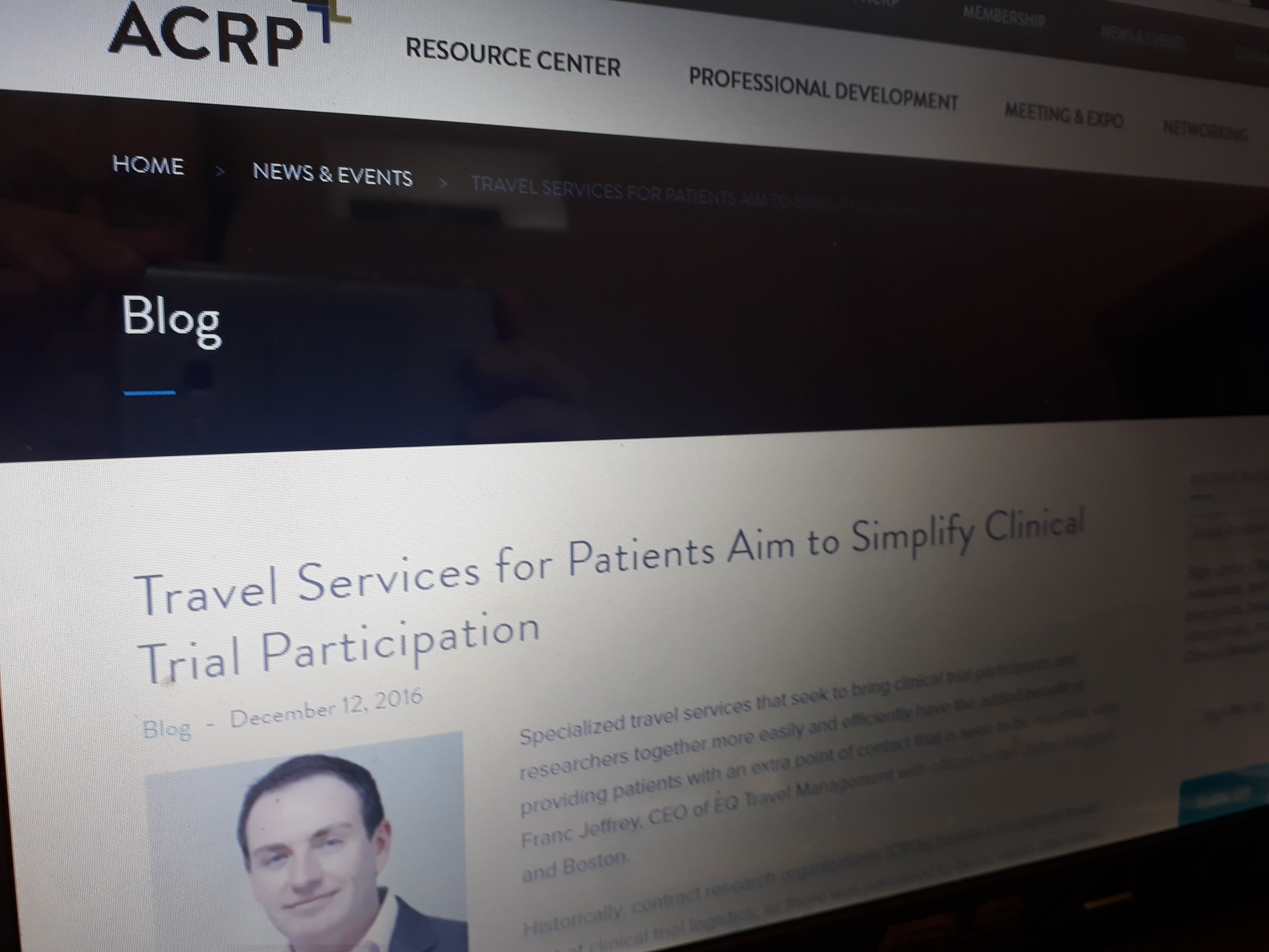 The Association of Clinical Research Professionals