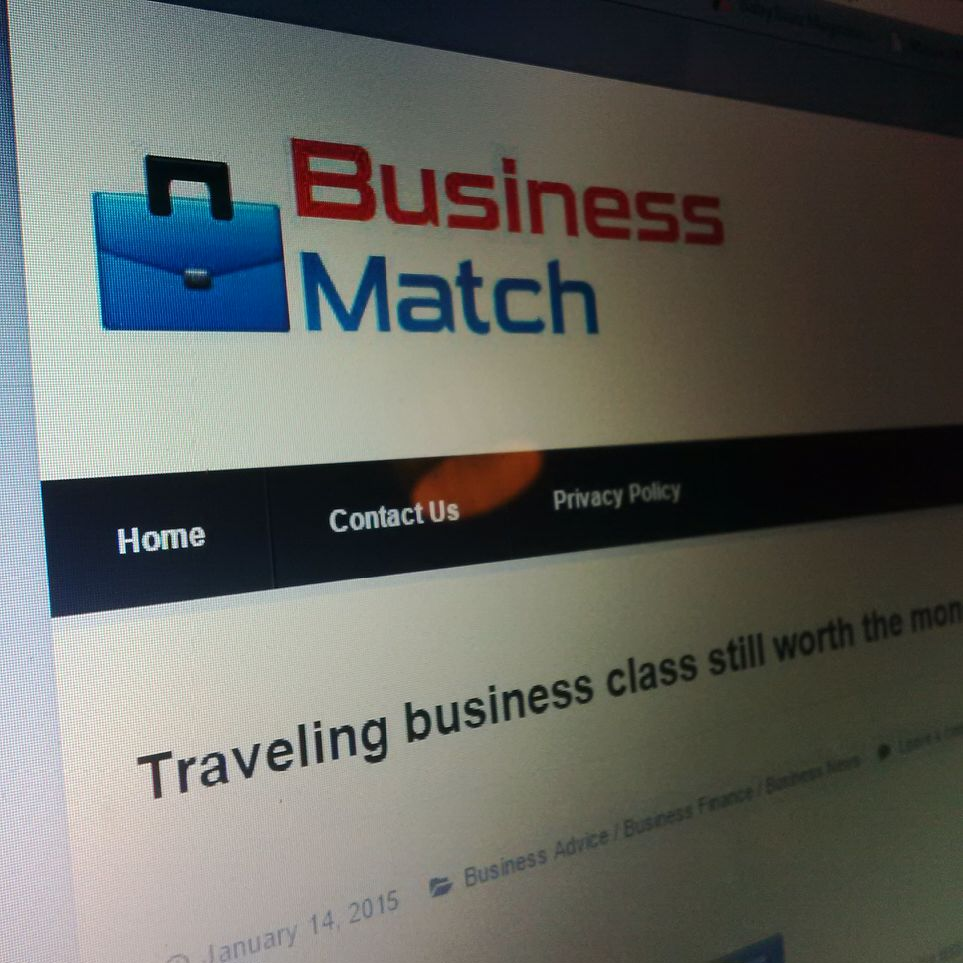 EQ Travel Featured in Business Match - January 2015