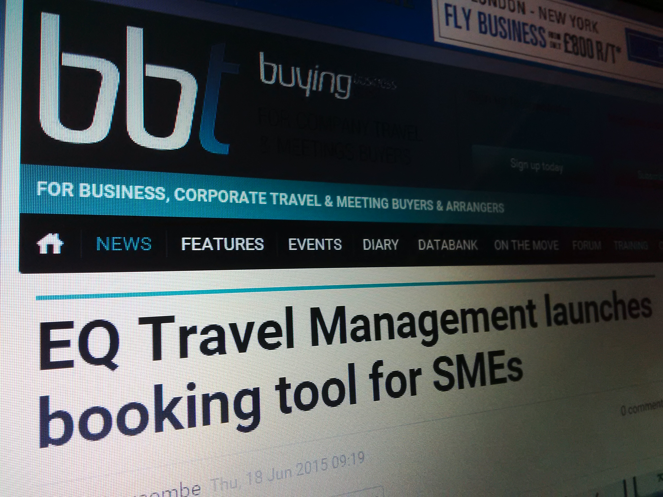 Buying Business Travel - June 2015