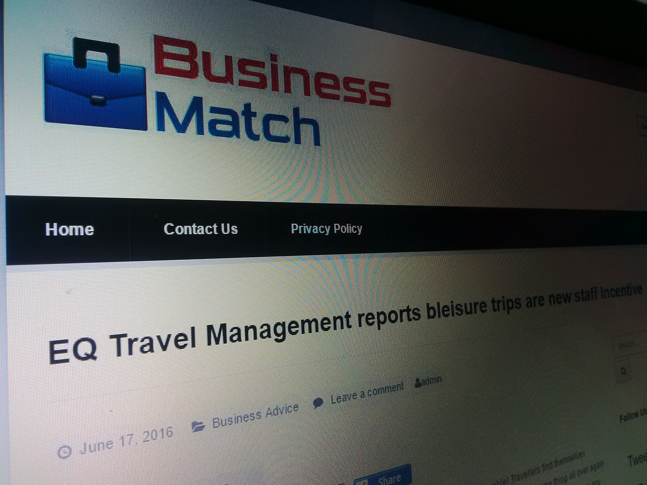 Business Match - June 2016