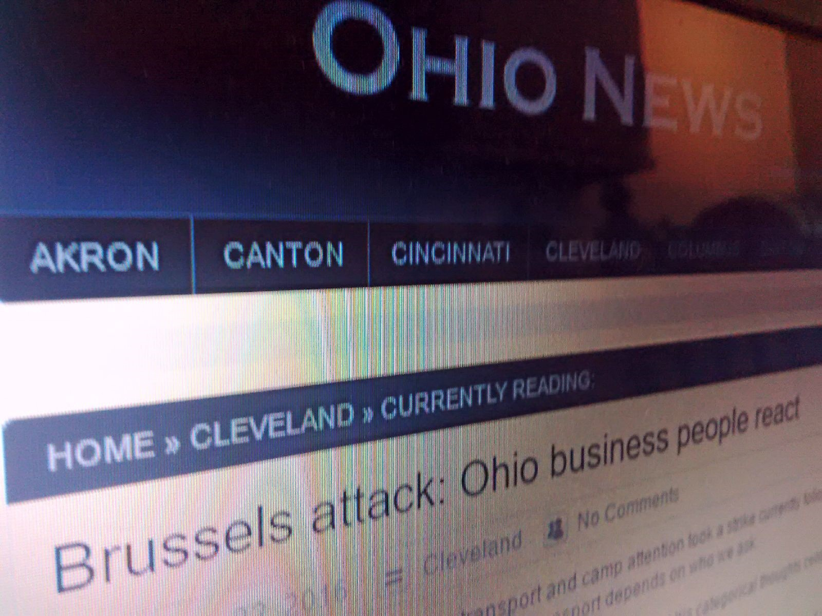ohio news - Brussels attack